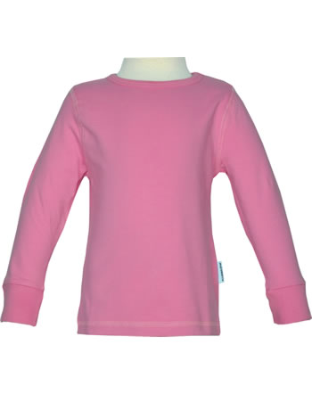 Maxomorra T-Shirt Langarm SOLID rose pink M335-D3257 GOTS
