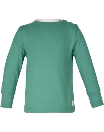 Maxomorra T-Shirt Langarm SOLID teal M447-D3305 GOTS