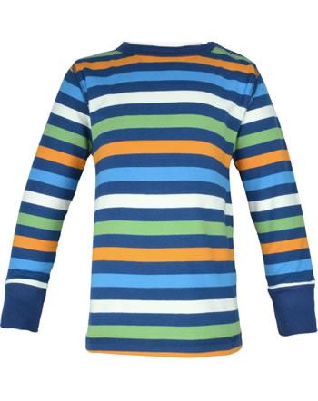 Maxomorra T-Shirt long sleeve STRIPE stripe navy C3437-M520 GOTS