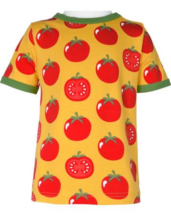 Maxomorra T-Shirt short sleeve TOMATO yellow C3471-M468 GOTS