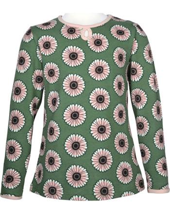 Maxomorra T-Shirt/Tunika Langarm CALENDULA grün C3433-M441 GOTS