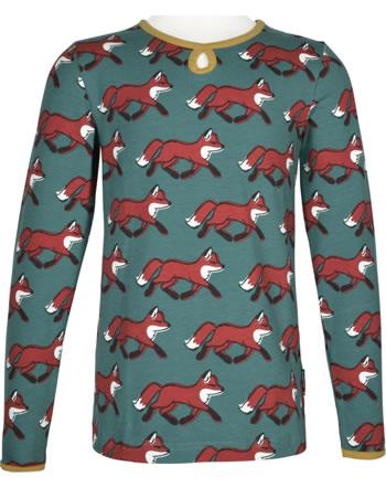 Maxomorra T-Shirt/Tunika Langarm FOX grün/gelb C3435-M441 GOTS
