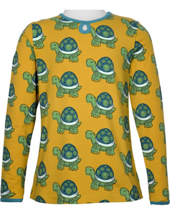 Maxomorra T-Shirt/Tunika Langarm TORTOISE gelb C3419-M441 GOTS