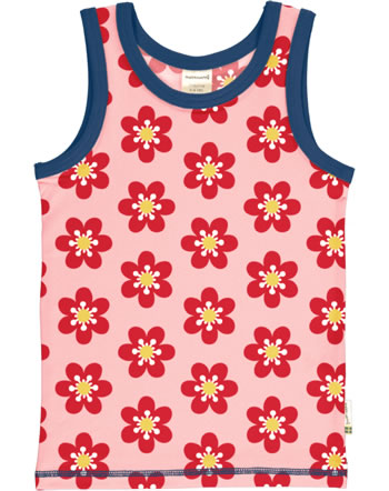 MaxomorraTanktop Undershirt ANEMONE pink/blue C3430-M471 GOTS