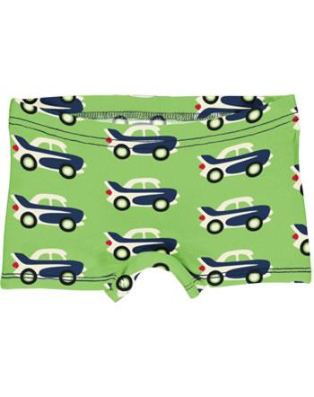Maxomorra Slips Boxer Panty CAR vert C3474-M513 GOTS