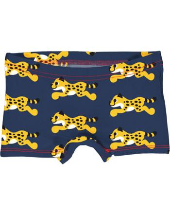 Maxomorra Unterhose Boxer Panty CHEETAH blau XA23-14A GOTS