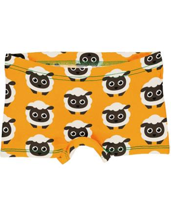 Maxomorra Unterhose Boxer Panty CLASSIC SHEEP orange C3501-M571 GOTS