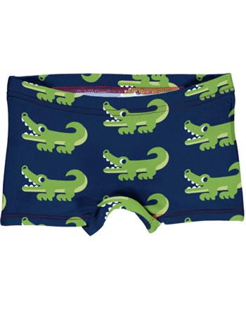 Maxomorra Briefs Boxer Panty CROCODILE blue C3469-M513 GOTS