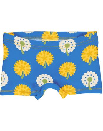 Maxomorra Slips Boxer Panty DANDELION bleu/jaune C3477-M513 GOTS