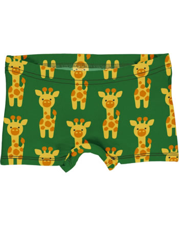 Maxomorra Briefs Boxer Panty GIRAFFE green C3424-M513 GOTS