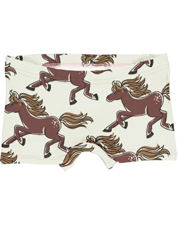 Maxomorra Unterhose Boxer Panty HORSE beige GOTS M513-C3379