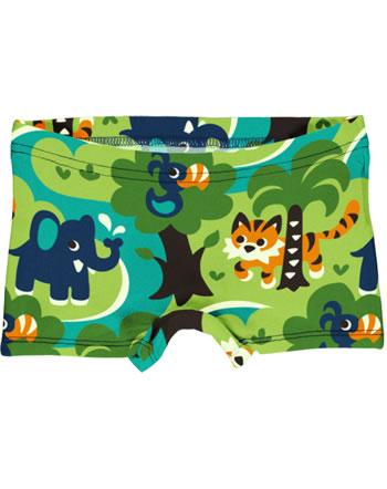 Maxomorra Unterhose Boxer Panty JUNGLE grün C3473-M513 GOTS