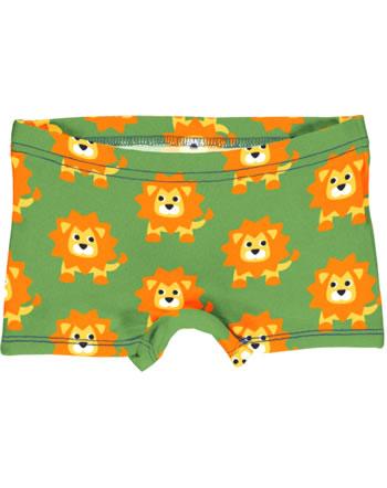 Maxomorra Unterhose Boxer Panty LION grün C3487-M513 GOTS
