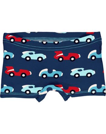 Maxomorra Briefs Boxer Panty RACE blue/red C3426-M513 GOTS