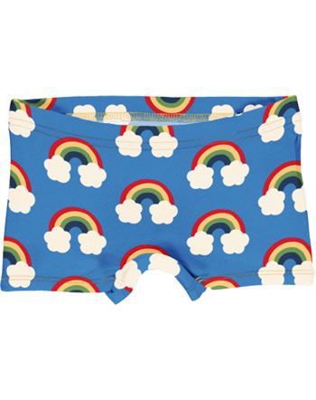 Maxomorra Briefs Boxer Panty RAINBOW blue C3470-M513 GOTS