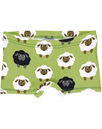 Maxomorra Briefs Boxer Panty SHEEP green C3482-M513 GOTS