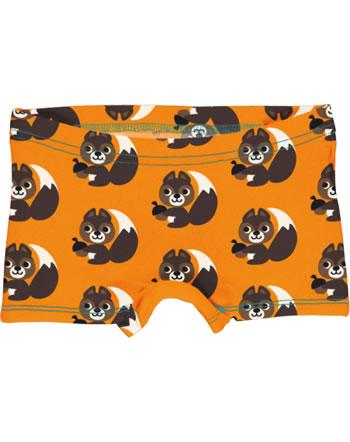Maxomorra Unterhose Boxer Panty SQUIRREL orange XA24-14A GOTS