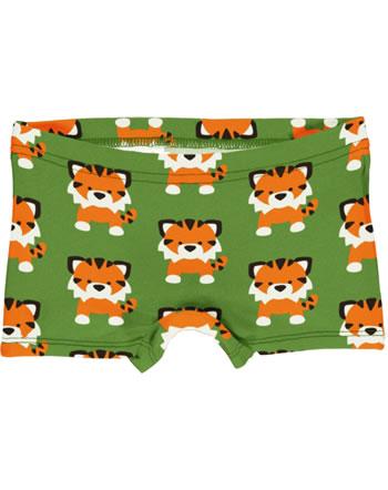 Maxomorra Unterhose Boxer Panty TANGERINE TIGER grün GOTS M513-C3338