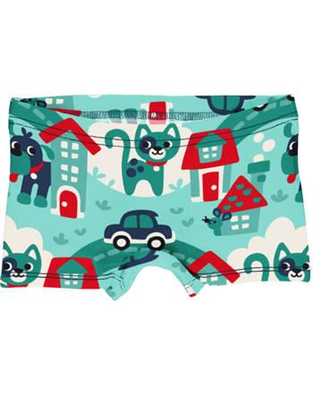 Maxomorra Unterhose Boxer Panty TOWN türkis C3479-M513 GOTS