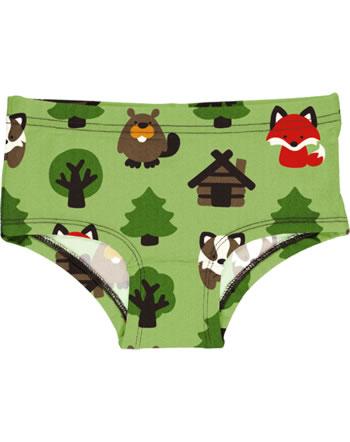Maxomorra Unterhose Hipster GREEN FOREST grün C3408-M487 GOTS