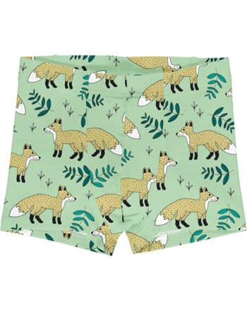 Meyadey Boxer Shorts WILD FOX vert GOTS D3401-M466