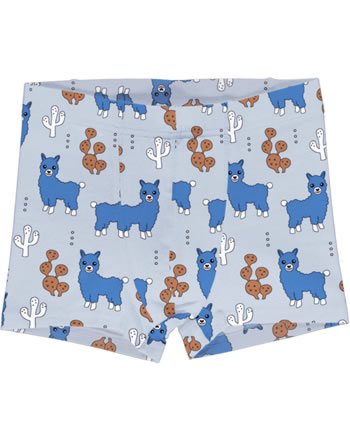 Meyadey Boxer Shorts ALPACA FRIENDS blue C3456-M466 GOTS