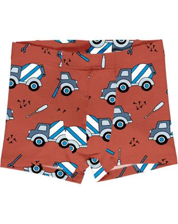 Meyadey Boxer Shorts CEMENT TRUCK orange C3507-M466 GOTS
