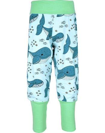 Meyadey Pantalon WHALE WATERS bleu C3509-M476 GOTS