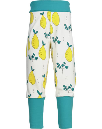 Meyadey Pants Rib LEAFY LEMON yellow GOTS D3396-M476