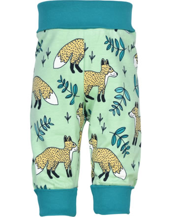 Meyadey Pantalon WILD FOX vert GOTS D3401-M476