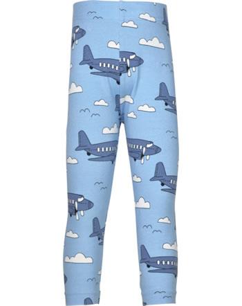 Meyadey Leggings Cropped AIROPLANE bleu C3510-M384 GOTS