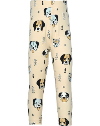 Meyadey Leggings Cropped HAPPY DOGS orange C3514-M384 GOTS