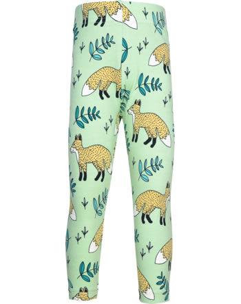 Meyadey Leggings Cropped WILD FOX green GOTS D3401-M384
