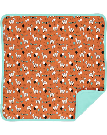 Meyadey Blanket CAMEL PARTY orange C3457-M493 GOTS
