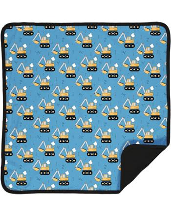 Meyadey Blanket EXCAVATOR RIDE blue C3459-M493 GOTS