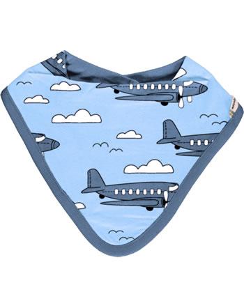 Meyadey Dreieck-Halstuch AIROPLANE blau C3510-M348 GOTS