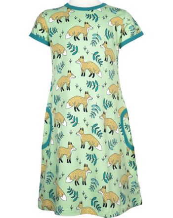 Meyadey Dress shortsleeve WILD FOX green GOTS D3401-M355