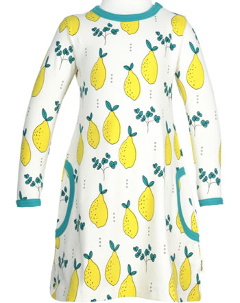 Meyadey Dress longsleeve LEAFY LEMON yellow GOTS D3396-M436
