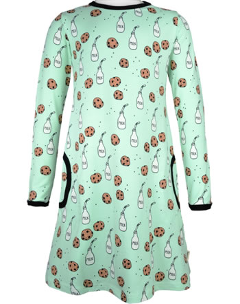 Meyadey Dress long sleeve MILK & COOKIES blue C3463-M436 GOTS