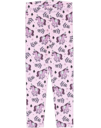 Meyadey Leggings UNICORN JUNGLE pink C3467-M474 GOTS