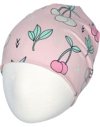 Meyadey Mütze Beanie CHERRY KISS rosa GOTS D3390-M544