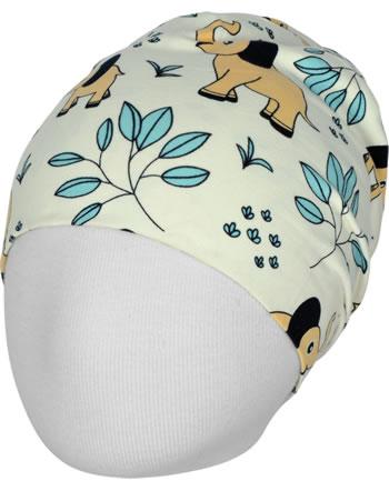Meyadey Mütze Beanie ELEPHANT GARDEN beige C3458-M544 GOTS