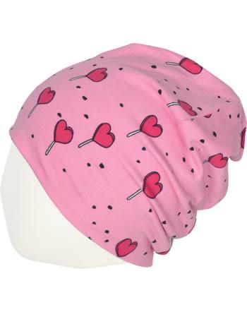 Meyadey Mütze Beanie LOLLIPOP LOVE pink C3462-M544 GOTS