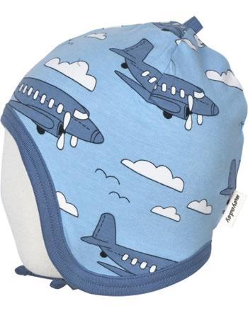 Meyadey Chapeau à nouer AIROPLANE bleu C3510-M391 GOTS