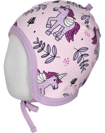 Meyadey Hat Helmet  UNICORN JUNGLE pink C3467-M391 GOTS