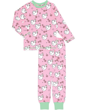 Meyadey Pyjama SWAN QUEEN rose C3506-M437 GOTS