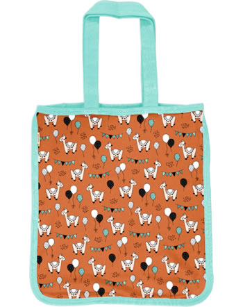 Meyadey Shopping Bag CAMEL PARTY orange C3457-M494 GOTS