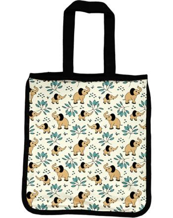 Meyadey Shopping Bag ELEPHANT GARDEN beige C3458-M494 GOTS