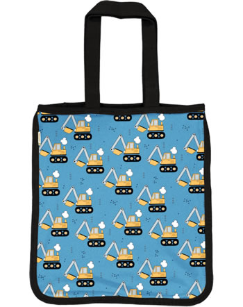 Meyadey Shopping Bag EXCAVATOR RIDE blue C3459-M494 GOTS