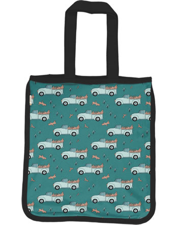 Meyadey Shopping Bag PICKING UP TREES green C3464-M494 GOTS